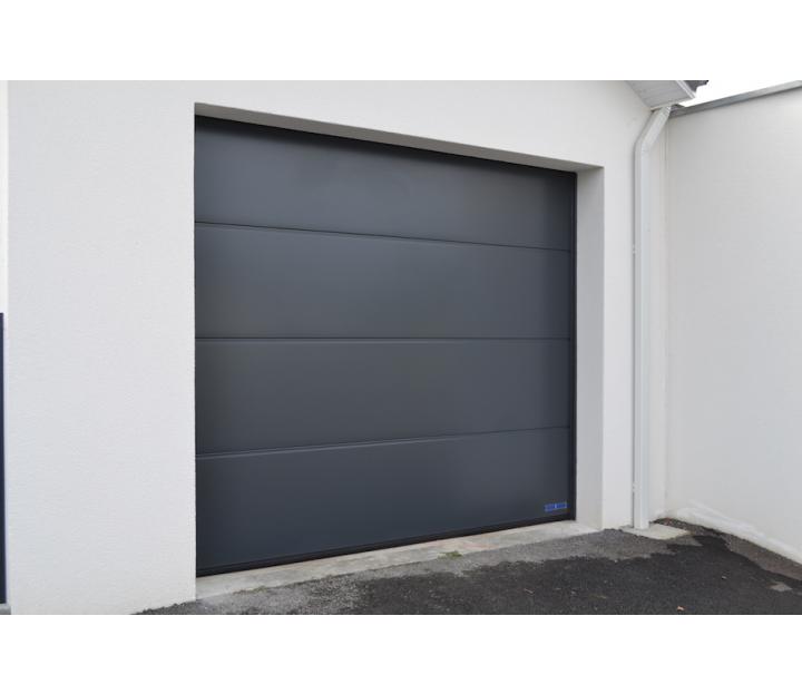 Pontacq larregain porte de garage et rideaux m talliques - Rideaux garage electrique ...
